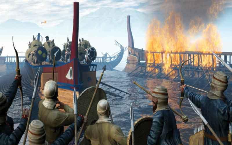 22 Σεπτεμβρίου 480 π.Χ. η ναυμαχία της Σαλαμίνος