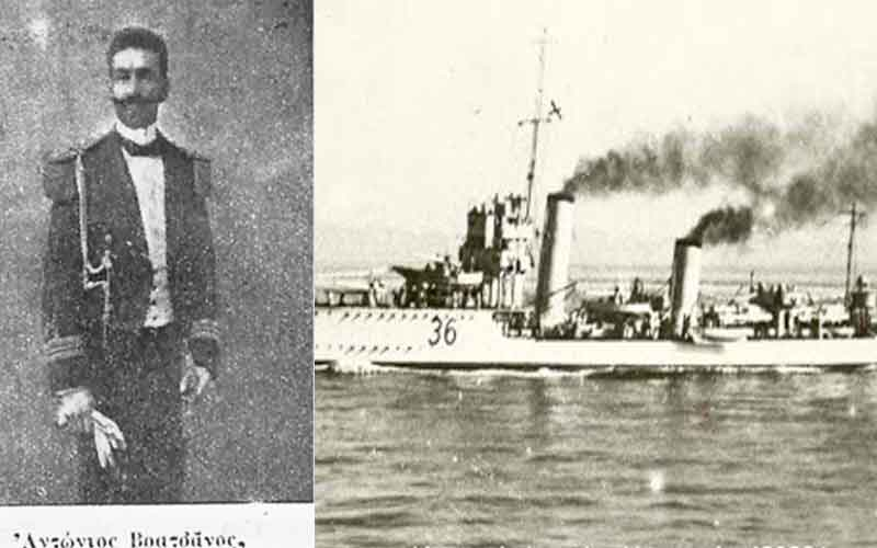 21 Οκτώβριου 1912: το αντιτορπιλικό «Ιέραξ» απελευθερώνει τα Ψαρά