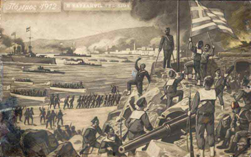11 Νοεμβρίου 1912, η απελευθέρωση της Χίου
