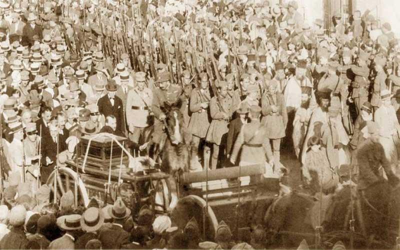Πως σώθηκε το βαγόνι που μετέφερε τα οστά του Κολοκοτρώνη στην Τρίπολη