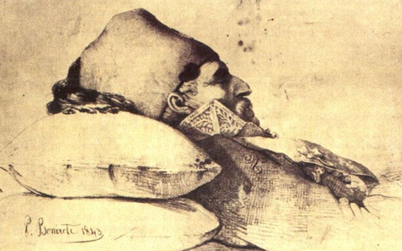 4 Φεβρουαρίου 1843:  ο θάνατος του Θεόδωρου  Κολοκοτρώνη