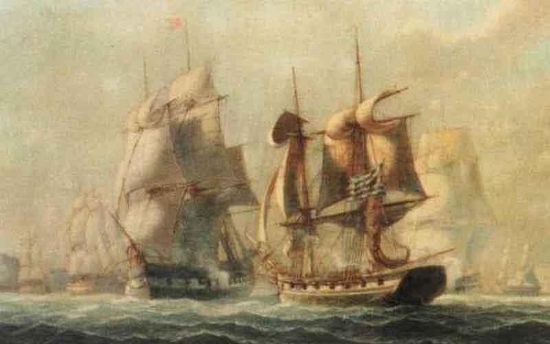 20 Φεβρουαρίου 1822: η Ναυμαχία της Πάτρας