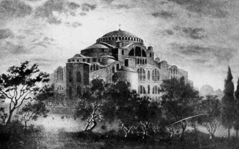 23 Φεβρουαρίου 532: εγκαινιάζεται η Αγία του Θεού Σοφία, ένα θαύμα της Αρχιτεκτονικής γεννιέται στην Κωνσταντινούπολη