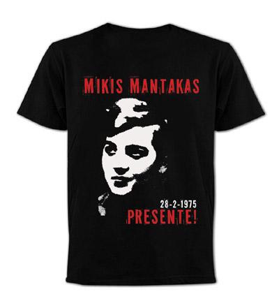 MIKIS MANTAKAS PRESENTE!