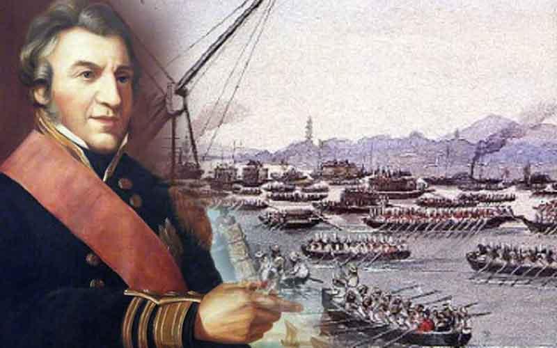 3 Ιανουαρίου 1850: ο αποκλεισμός του Πειραιά από τους Βρετανούς με πρόσχημα την αποζημίωση του Δαυίδ Πατσίφικο
