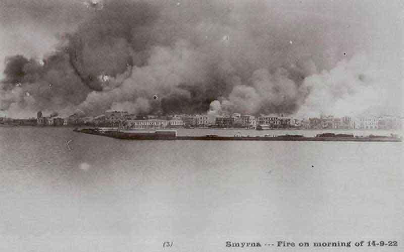 14 Σεπτεμβρίου 1922… η Σμύρνη πνιγμένη στις φλόγες